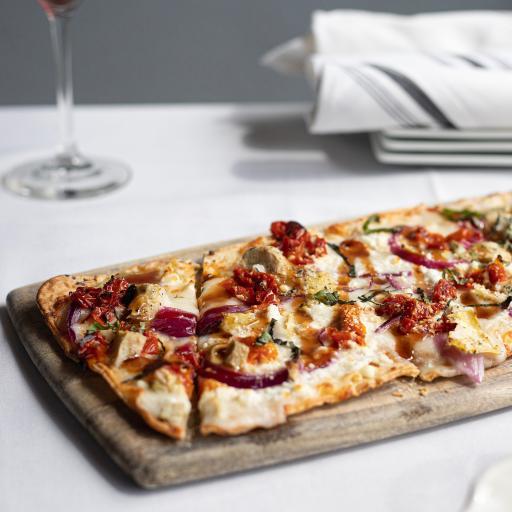披萨 薄饼 酱汁 小番茄