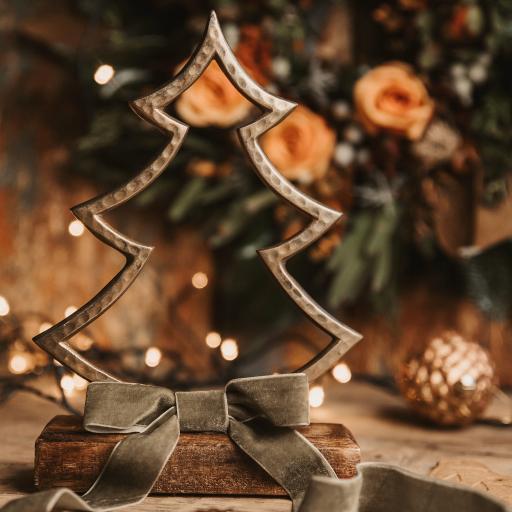 圣诞 节日 饰品 圣诞树 装饰 蝴蝶结
