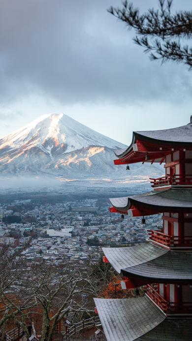 浅草寺 日本 富士山 城市