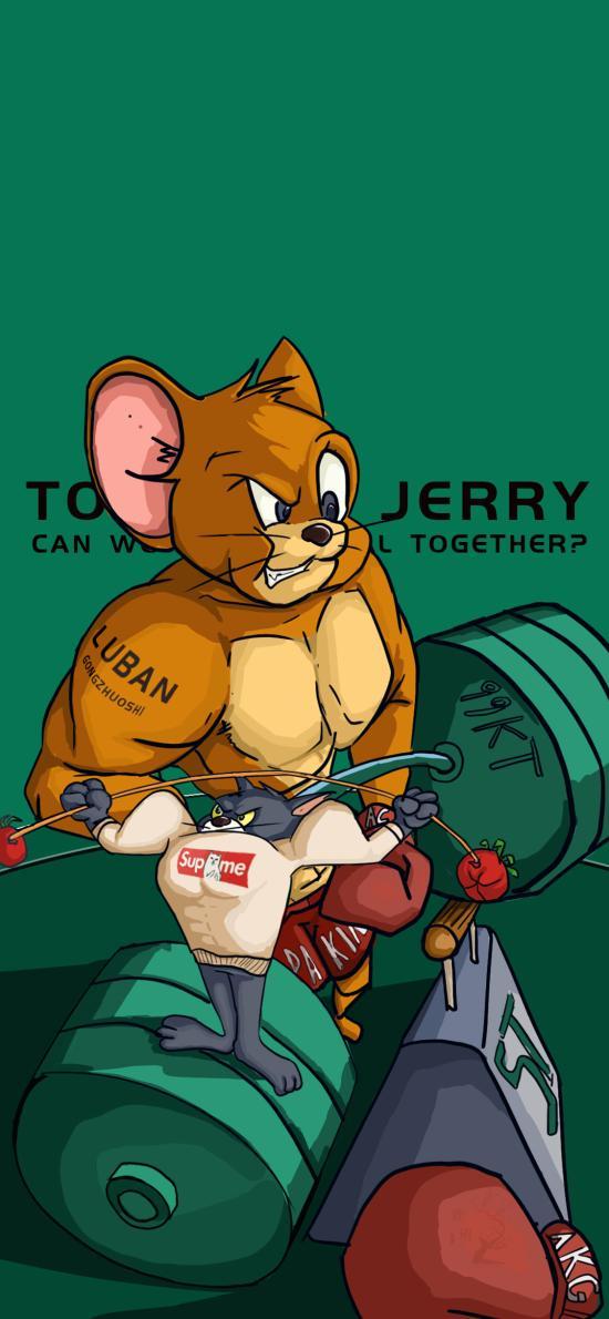 美国 猫和老师 杰瑞鼠 Jerry