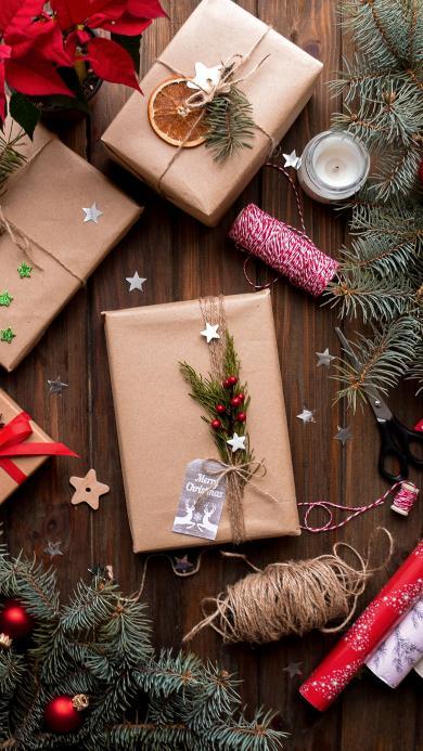 礼盒 礼物 圣诞 饰品