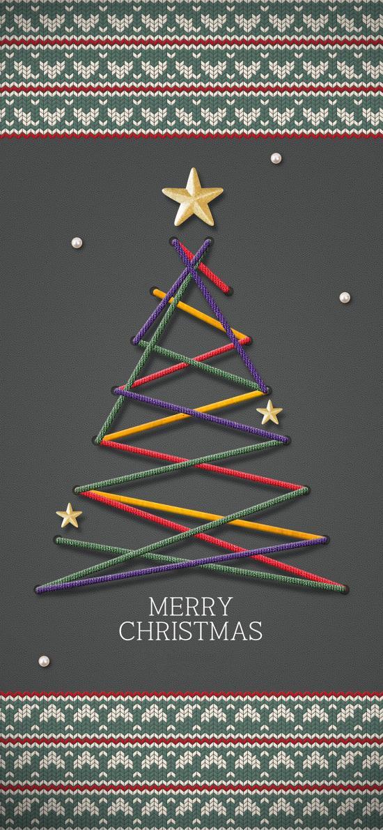 圣诞树 圣诞节 星星 Merry Christmas