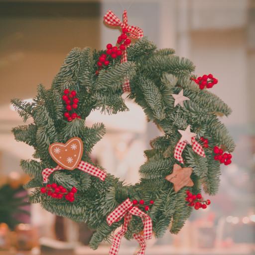 氛围 花环 圣诞 装饰