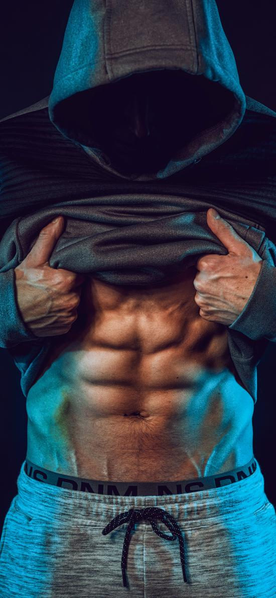 健身 型男 腹肌 身材