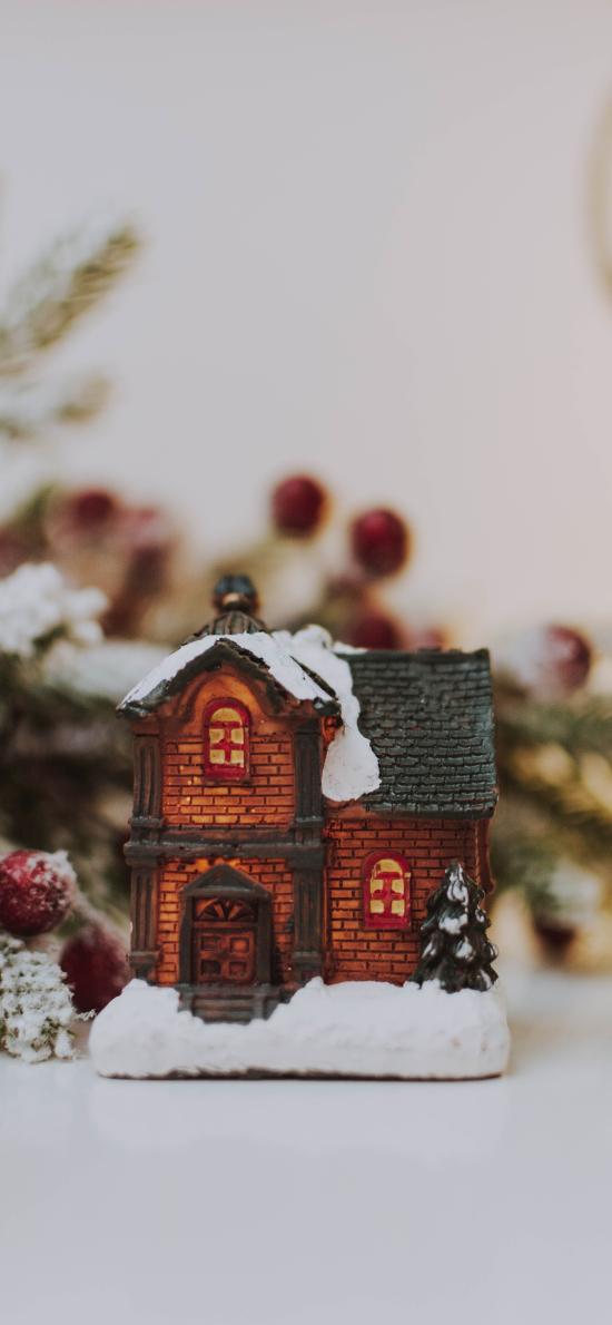 静物 玩具 摆件 小屋子