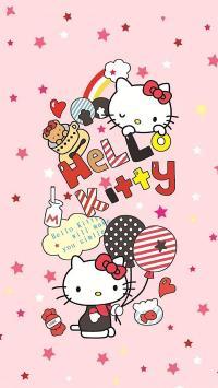 Hello Kitty 凯特猫 粉色 卡通