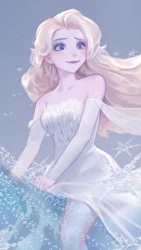 迪士尼 冰雪奇缘 艾莎 Elsa