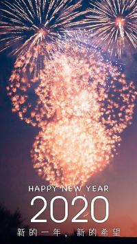 2020 新的一年 新的希望 新年