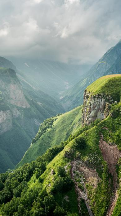 山川 绿野 唯美 丛山