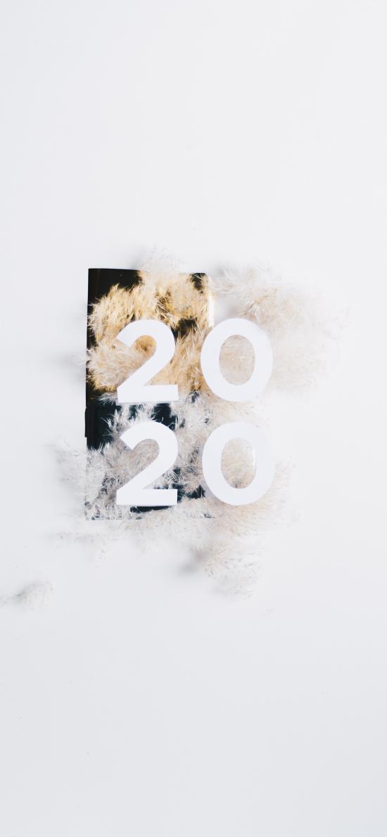 2020 新年 鼠年 简约