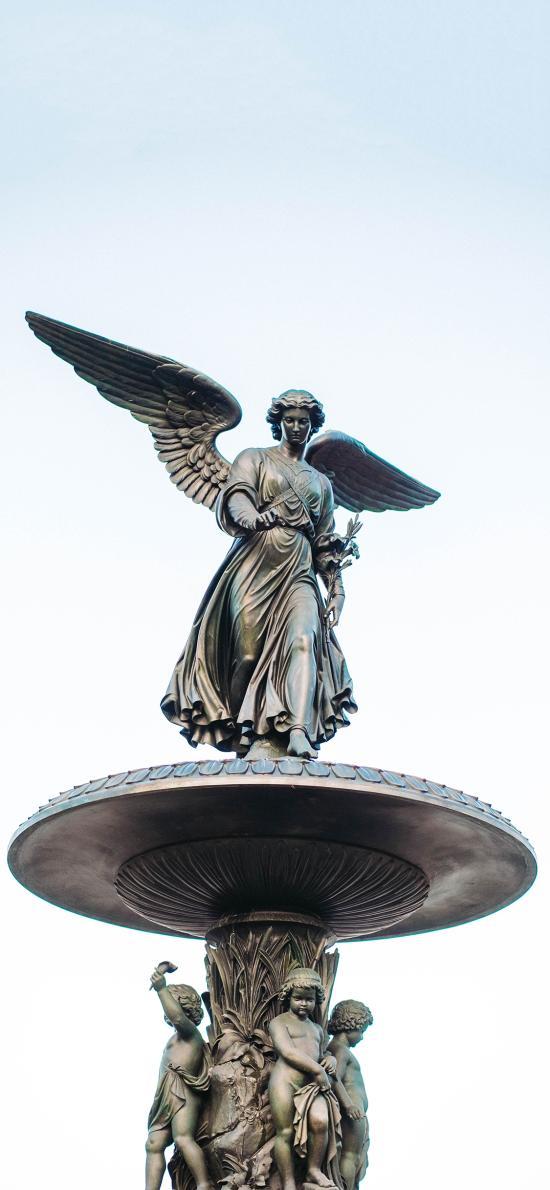 铜像 工艺 展览 天使