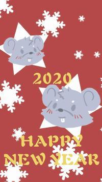 2020 鼠年 happy new year