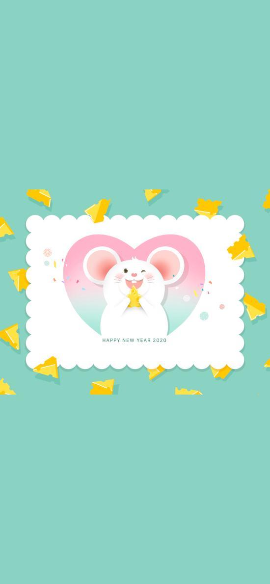 2020 happy new year 鼠年