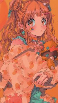 动漫 少女 二次元 甜美