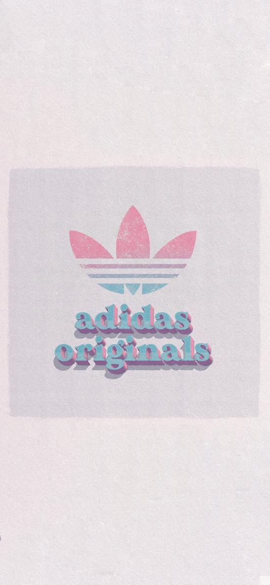 阿迪达斯 adidas 运动 平铺 logo