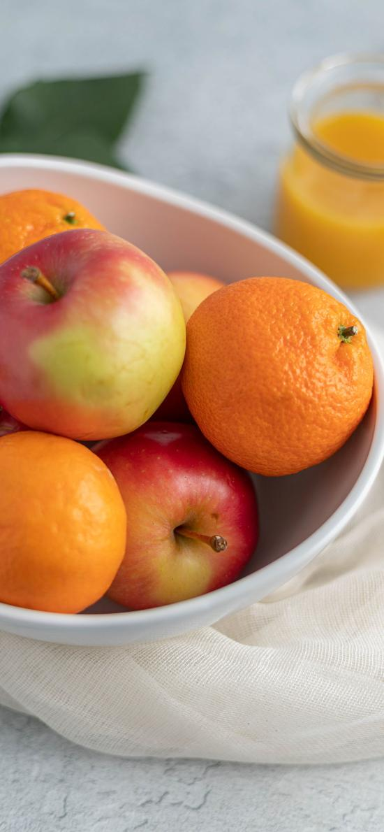 水果 苹果 橙子 果汁
