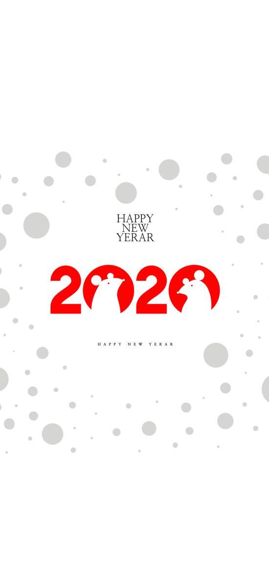 新年 2020 Happy New Year 鼠年
