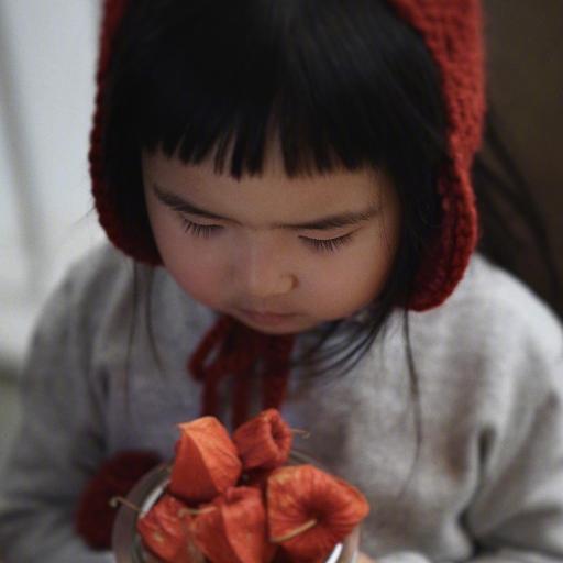 小蛮 小网红 可爱 小女孩 儿童 灯笼果