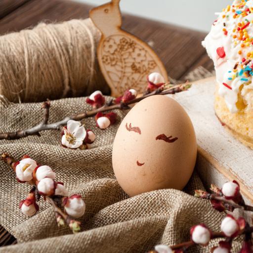 鸡蛋 趣味 花苞 彩绘