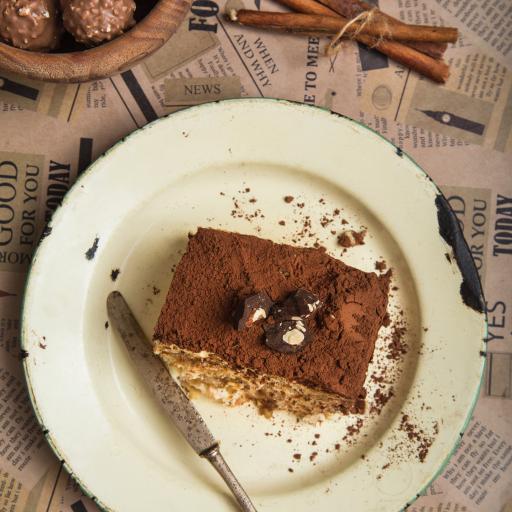 糕点 蛋糕 甜品 巧克力粉