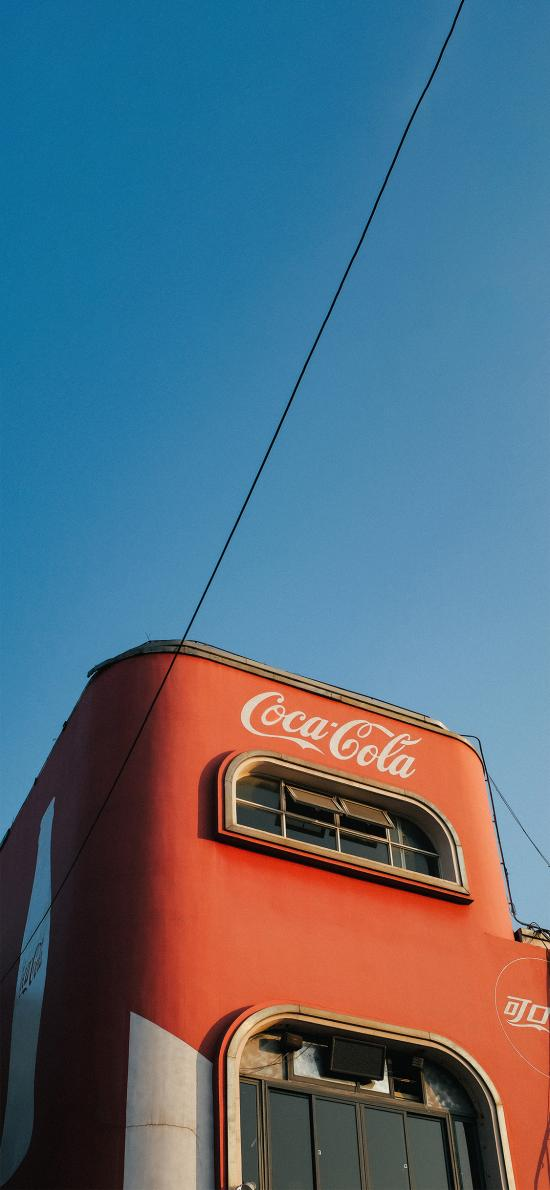 可口可乐 建筑 房屋 品牌