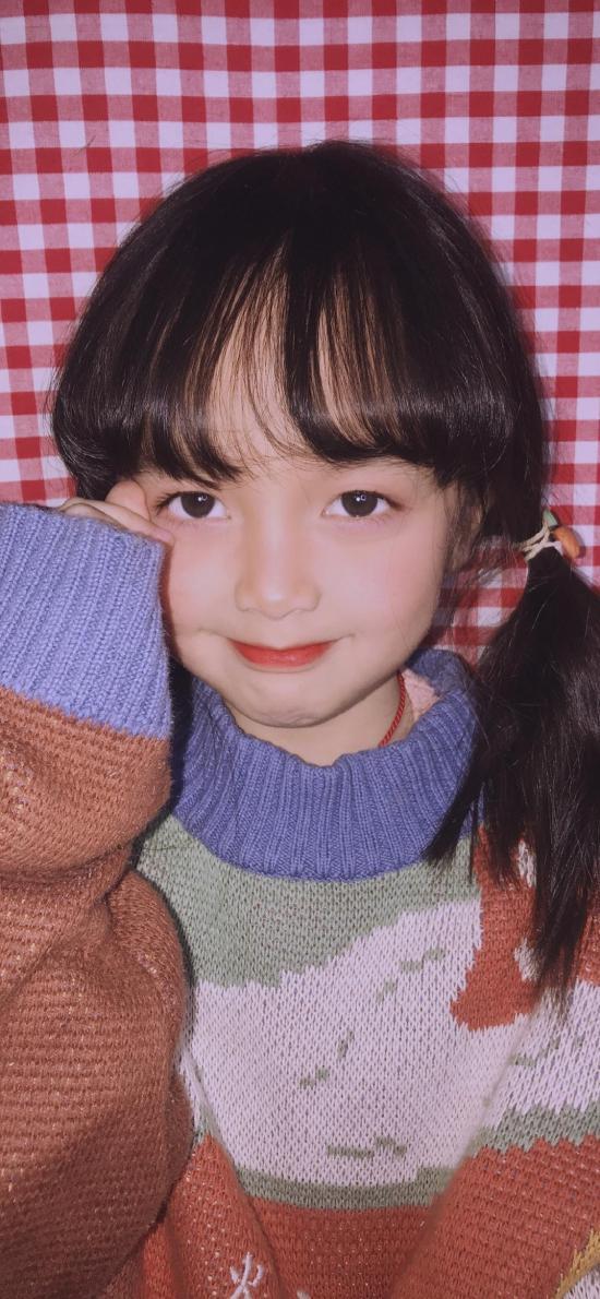 小女孩 可爱 儿童