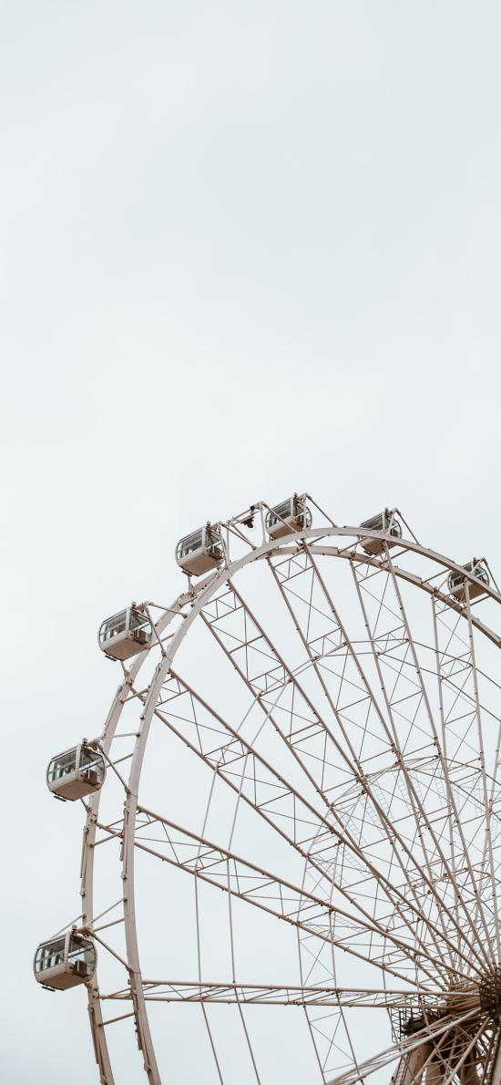 摩天轮 娱乐 设施 圆形