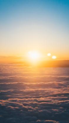 云彩 云海 阳光 天空