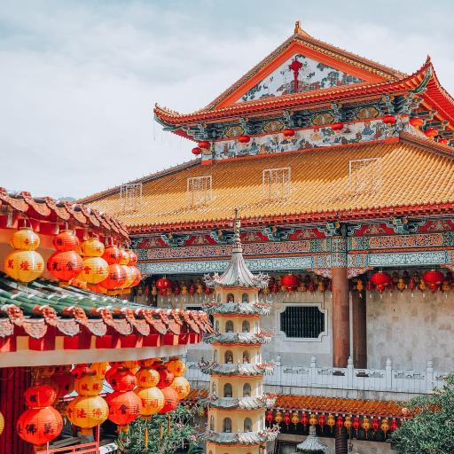 建筑 寺庙 塔楼 色彩