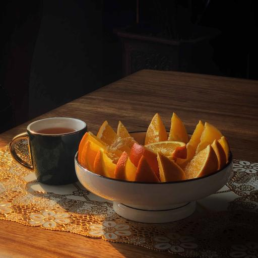 新鲜 水果 橙 鲜切