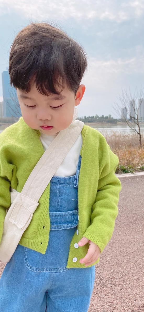 李浠晗 小男孩 可爱 萌 儿童