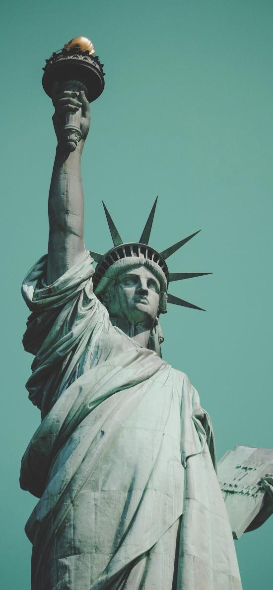 自由女神 雕塑 美国 标志性