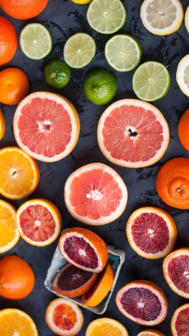 水果 新鲜 柑橘 切片 柠檬