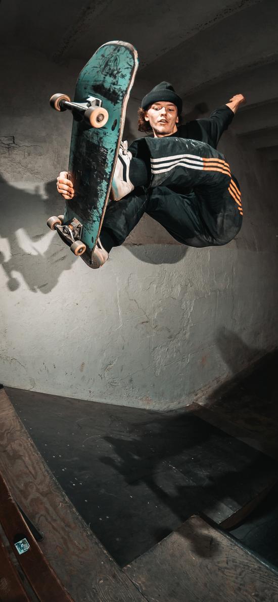 滑板 花式 运动 技巧
