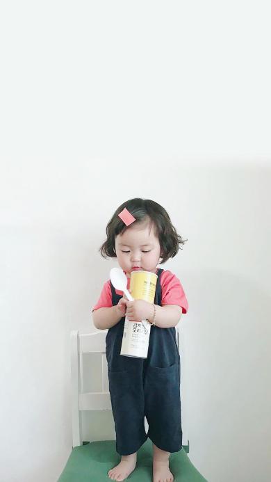 罗熙 小女孩 可爱 萌 儿童