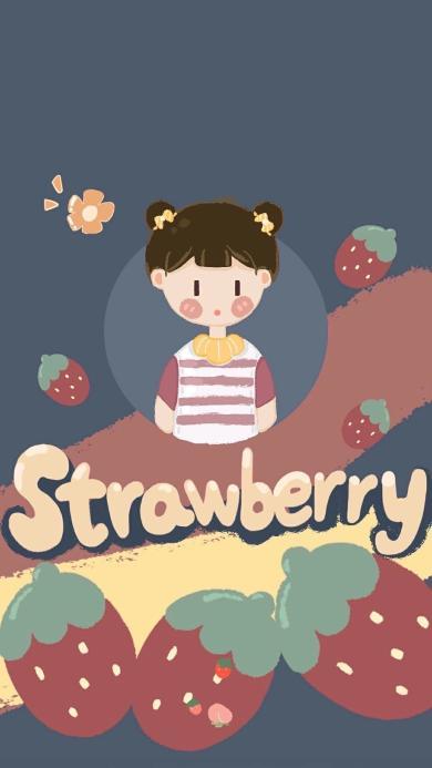 草莓 strawberry 女孩