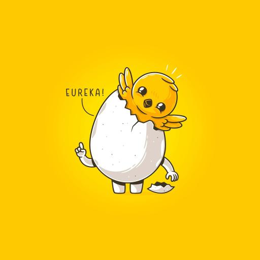 可爱 小鸡 鸡蛋 蛋壳 拟人 黄