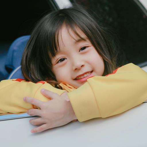 哈琳 小女孩 可爱 儿童