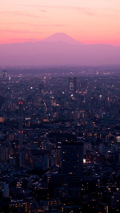 城市 夜晚 城市 高楼