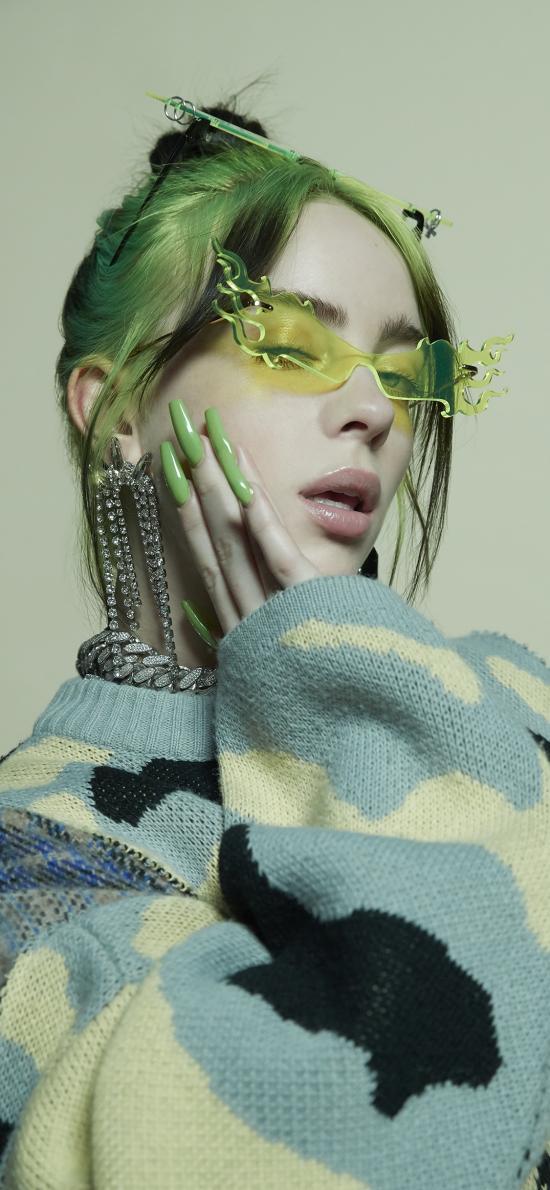 Billie Eilish 碧梨 美国歌手 模特 音乐人
