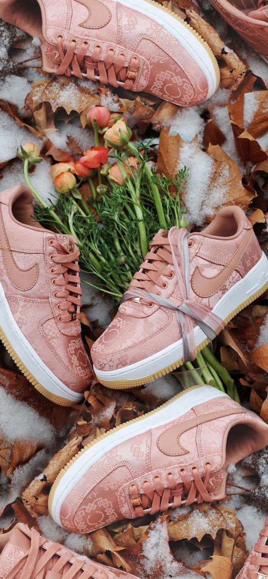 品牌 Nike 红丝绸 板鞋