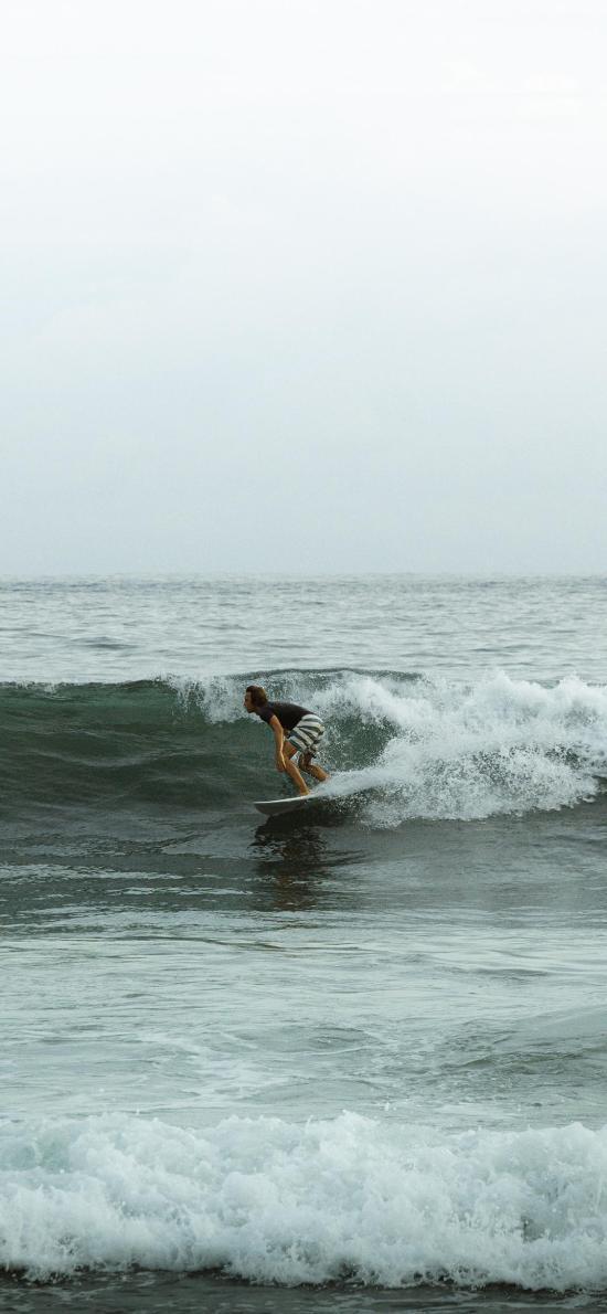 冲浪 运动 大海 海浪