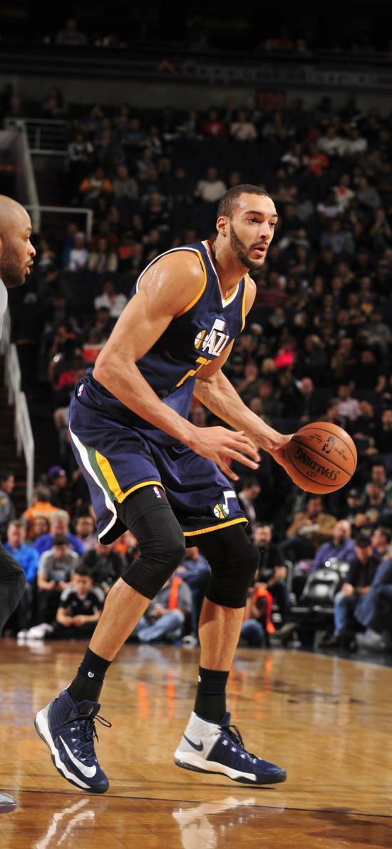 戈贝尔 篮球 运动员 投篮 NBA