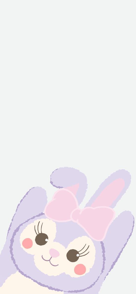 星黛露 迪士尼 紫色 动画 可爱