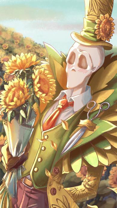 第五人格 手游 杰克 向日葵