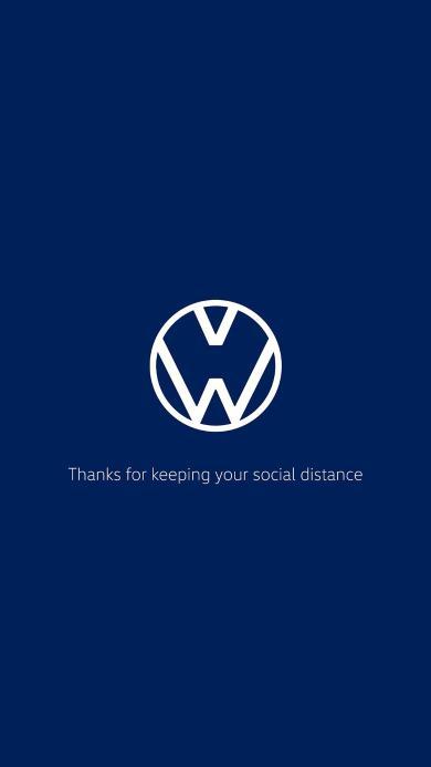 大众 汽车品牌 logo 隔离 疫情