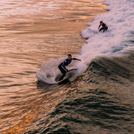 冲浪 浪花 大海 海浪