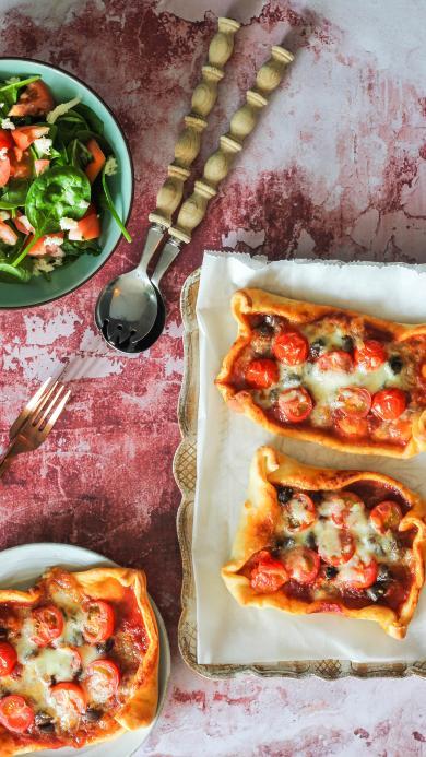 餐点 小番茄 西红柿 芝士 烘烤