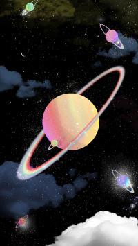 宇宙 太空 星球 星空 唯美