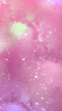 宇宙 太空 星光 星空 粉色 梦幻